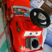 Kiddieland Pop N' Play Activity Ride-On Disney Mcqueen