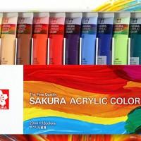 Cat Akrilik Merk Sakura / Aclrylic Sakura