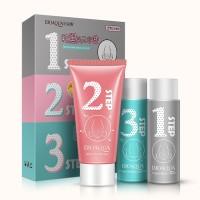 Masker Wajah Komedo 3 Langkah / Bioaqua 3 Step Acne Nose Membrane Mask