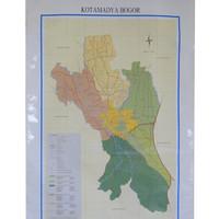 harga Peta Kota Bogor (Bingkai) Tokopedia.com