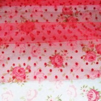 harga Tile Dot warna / tulle kain bahan kerajinan craft bandana jepit bando Tokopedia.com