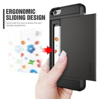 VERUS Damda Slide Casing Cover Iphone 5/5s Card Slot Wallet ID Case