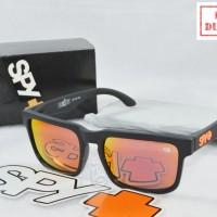 Kacamata Sunglass Pria Spy+ Helm Fire Orange