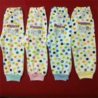 Celana Panjang Libby Dot Newborn Buka Kaki (3pcs)