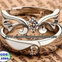 Jual cincin kawin, cincin pernikahan, cincin couple palladium 1066 Murah