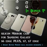Samsung S6 Edge Plus S7 Mirror Silicon Case s6Edge + Galaxy S7edge