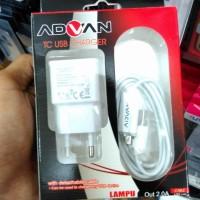 harga 2a Advan Led Charger Micro Usb + Kabel Super Fast Charging Tokopedia.com