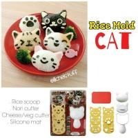 Rice Mold Cat / Cetakan nasi bento kucing onigiri cat