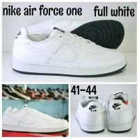 NIKE AIR FORCE ONE FULL WHITE / NIKE AIR FORCE 1 PUTIH