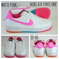 NIKE AIR FORCE ONE / NIKE AIR FORCE 1 WHITE PINK