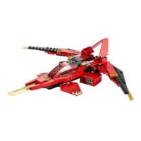 harga LEGO 70721 Kai Fighter + stickers + instructions + box (NO MINIFIGURE) Tokopedia.com