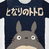 Jual Kaos Totoro - Totoro Night Murah