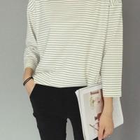 Sweater Blouse Baju Tangan Panjang Cotton Fashion Korea Atasan Baju
