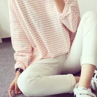 blouse Pakaian Wanita Import Baju Design Kemeja Kotak Flanel KOREA new