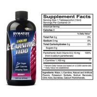 LIQUID L-CARNITINE 1100 16 Oz Dymatize Nutrition Resmi DNI