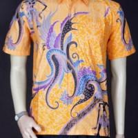 Jual {Model Batik} Kemeja Batik Modern Pria Motif Wayang|| Baju Batik 3568 Murah