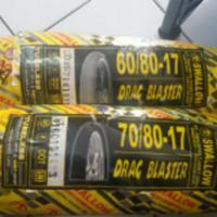 Paket Ban Swallow 60/80-17 Drag Blaster & 70/80-17 Drag Blaster