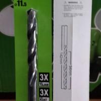 Mata Bor Besi 11.5mm RYU / Drill Bit