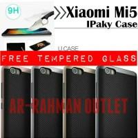 XIAOMI MI 5 ORIGINAL SLIM ARMOR IPAKY CASE FREE TEMPERED GLASS MI5