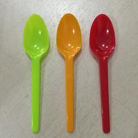 Sendok Teh / Sendok Ice Cream / Sendok Puding Warna (isi 25 pcs)