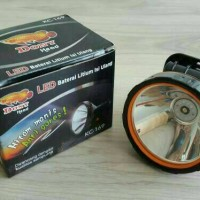HEADLAMP DONY LED KUNING/ SENTER KEPALA LED KWALITAS SUPER KC-169