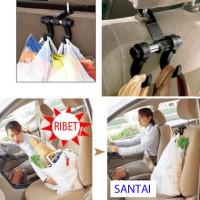 Alat Cantolan Belanja di Mobil Cantol Plastik Tas Car Handle Pegangan