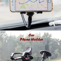 Car Phone Holder Model jepit, ukuran kecil sampe hp max 6 INCH Kuat