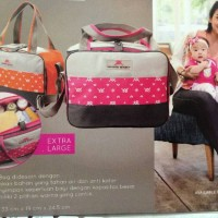 Tas Bayi Shimmer Bag Moms Baby