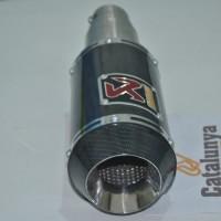 Knalpot Akrapovic Gp M1 Carbon Untuk Motor New Vixion/old