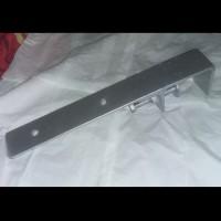 Kaki Meja Besi Universal Busa Disambung Dengan Kayu