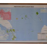 Peta Provinsi Kepulauan Riau (Bingkai)