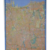 Peta Provinsi DKI Jakarta (Bingkai)