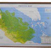 Peta Provinsi Riau (Bingkai)