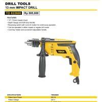 Mesin Bor Impact Drill 13mm TD 822600 FISCH / MC CULLOCH / MCCULLOCH