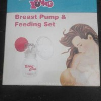 Breast Pump Pompa Asi Young Young Plus Feeding Set