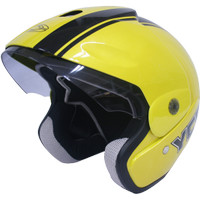 Helm Motor Cargloss Murah YCB Line Two Black Pearl Yellow