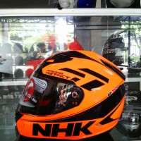 harga helm NHK gp 1000 2 visor motif stabilo Tokopedia.com