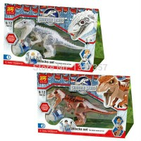 Lego Dino LELE 79151 Jurassic World Dinosaurus T-Rex & Indominus Rex