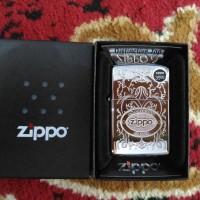 Zippo American Classic Crown Stamp High Polish Chrome Bottom L - 13