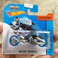 promo hot wheels max steel motorcycle sc shortcard MURAH Warungtjilik