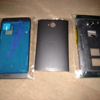 Full Housing Casing Fullset HTC ONE M7 Dual SIm 802