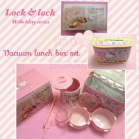 Hello Kitty Series by Lock and Lock Lunch Box Set