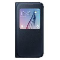 Original Samsung Galaxy S6 S View Cover - Black