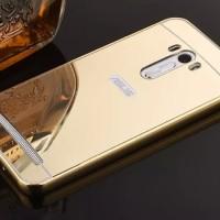 Bumper Mirror Case Asus Zenfone Selfie ZD551KL /Aluminium/Metal/Slide