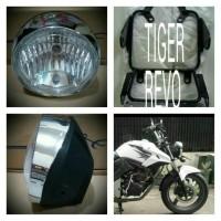 harga Breket Lampu Pesek Honda Tiger Revo + Lampu Std 7in Tirev Tokopedia.com
