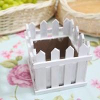 harga pot bunga pagar / vas bunga kayu / vas wood wooden fence flower Tokopedia.com