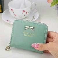 Jual Mini Ribbon wallet TOSCA dompet wanita,cewek koin import korea Murah