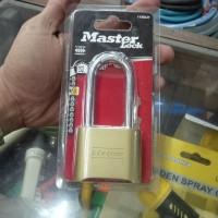 Gembok nomer kombinasi Master Lock 175D panjang
