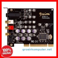 harga Aim High Definition Sound Card 2.1 PCI-e - SC-8000 Tokopedia.com
