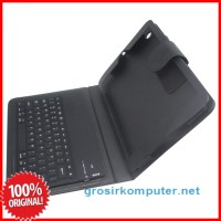 Bluetooth 3.0 Keyboard with Crazy Horse Leather Case for iPad Mini